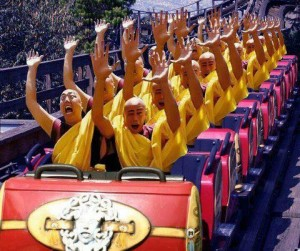 rollercoaster monks