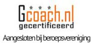 Diny van den Bout is gecertificeerd ondernemerscoach door GCoach Beroepsorganisatie